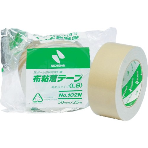 ニチバン 布粘着テープ 102N 25ミリX25m 102N7-25
