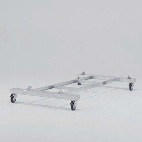 【直送】【代引不可】ALINCO(アルインコ) 作業台CSD-F用4輪キャスター付きベース CSDB22