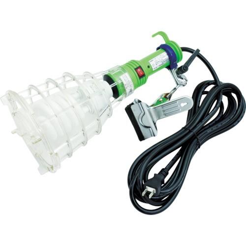 日動工業 ハンドランプ 脱落防止蛍光クリップランプ 100V32W 2芯 5m FCL-G32-5