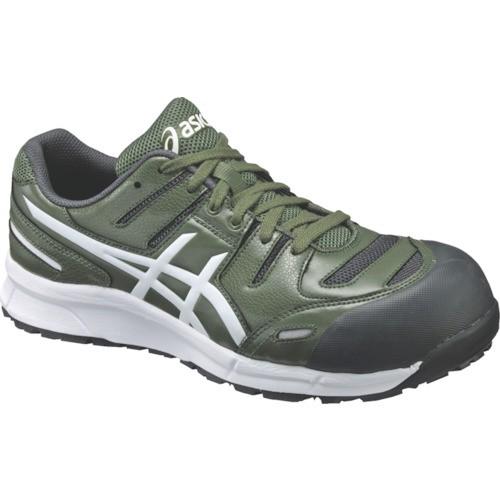 アシックス 作業靴 ウインジョブCP103 グリーンXホワイト 26.5cm FCP103.7901-26.5