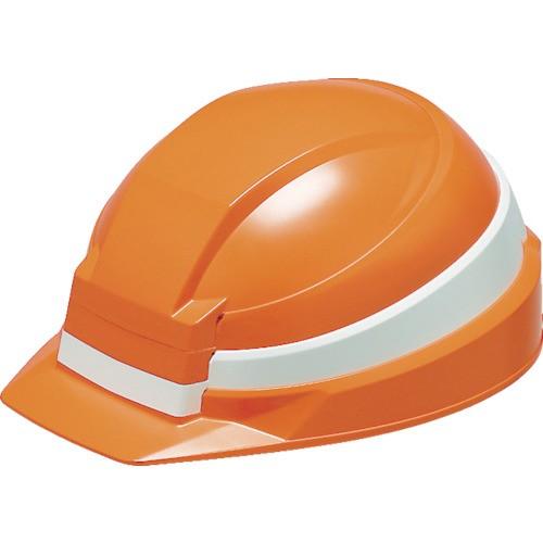 DICプラスチック 折りたたみヘルメット IZANO オレンジ 白 KP IZANO AA13-O/W KP