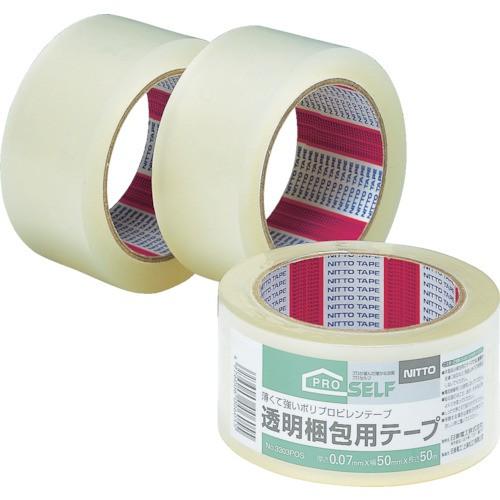 ニトムズ 透明梱包テープ 1P 50mmX50m J6030