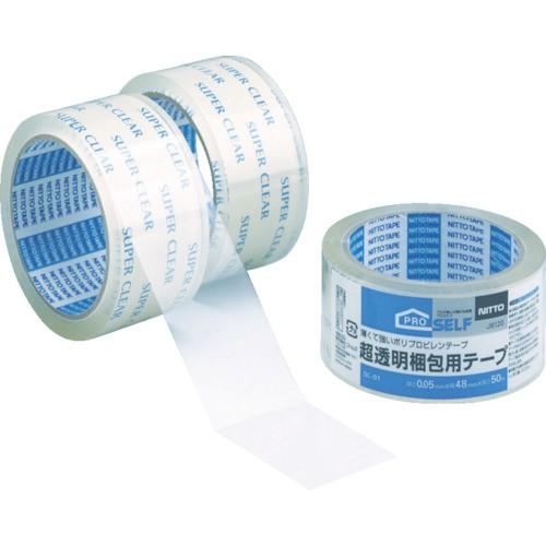 ニトムズ 超透明梱包テープ 48mmX50m J6120