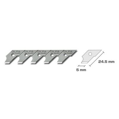 オルファ(OLFA) コンパスカッター替刃 15枚入(ポリシース) XB57