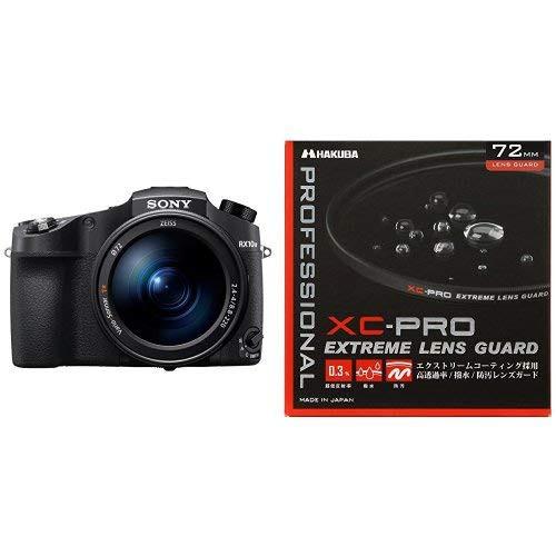 ソニー SONY デジタルカメラ Cyber-shot DSC-RX10M4 HAKUBA 72mm レンズフィルター XC-PRO 高透過率 撥水防汚 薄枠 日本製 レンズ保護