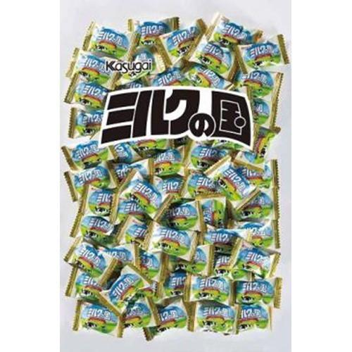 【常温便】【10入り】 春日井製菓 1kgミルクの国