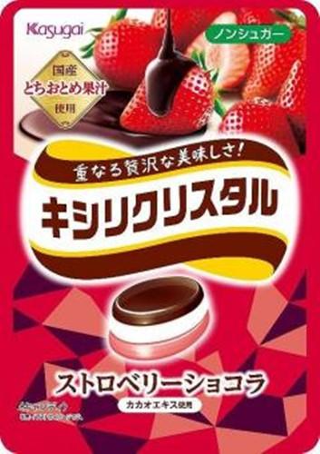 【常温便】【6入り x 1】 キシリクリスタル ストロベリーショコラ67g