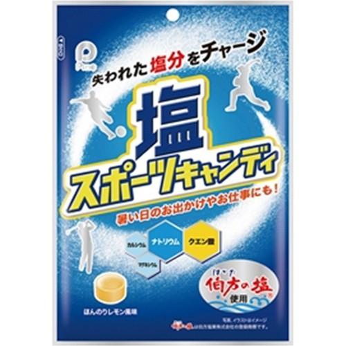 【常温便】【6入り x 1】 パイン 塩スポーツキャンディ 80g