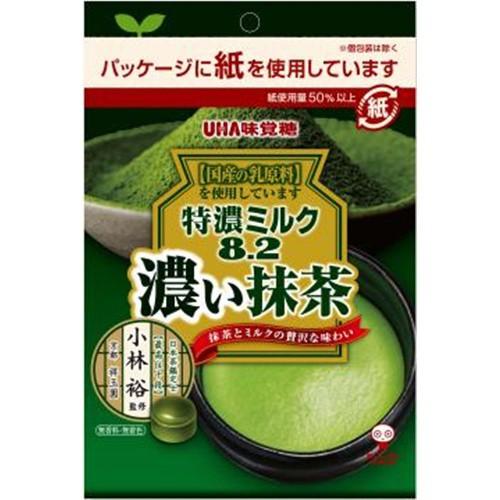 【常温便】【6入り x 1】 味覚糖 特濃ミルク8.2抹茶