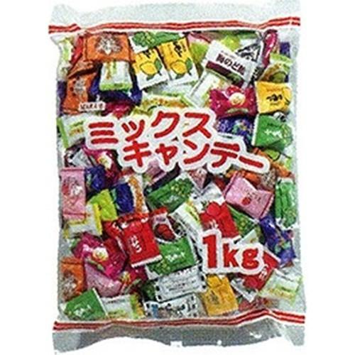 【常温便】【1入り x 1】 マルエ ミックスキャンディ 1kg