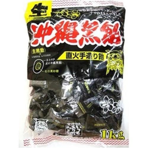 【常温便】【1入り x 1】 松屋(生)沖縄黒飴 1kg