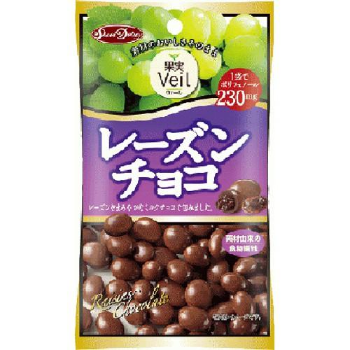 【常温便】【12入り x 1】 正栄食品工業 果実Veil レーズンチョコ47g
