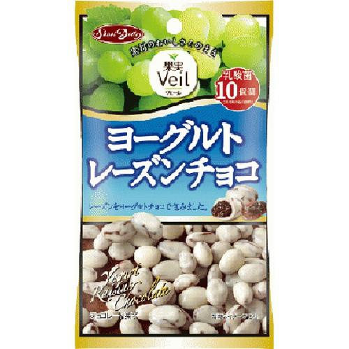 【常温便】【12入り x 1】 正栄食品工業 果実Veil ヨーグルトレーズンチョコ40g【今月の特売 菓子】