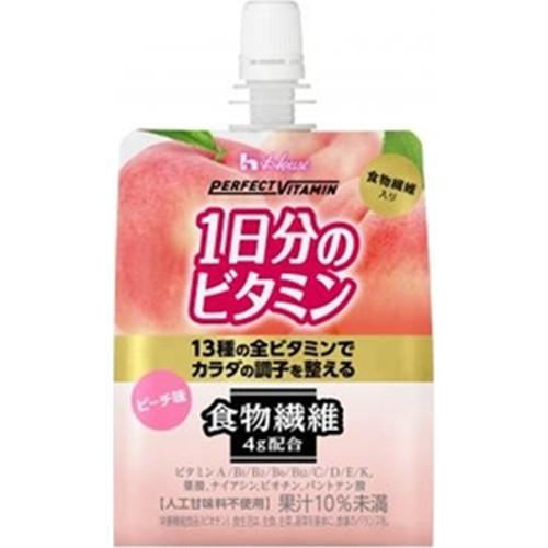 【常温便】【6入り x 1】 ハウスWF 1日分のビタミンゼリー食物繊維180g