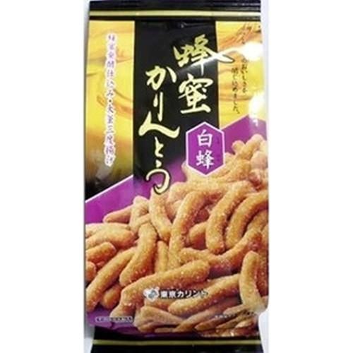 【常温便】【12入り x 1】 東京カリント 蜂蜜かりんとう 白蜂110g
