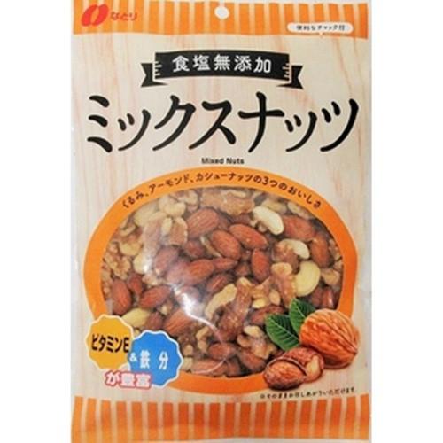 【常温便】【5入り x 1】 なとり 食塩無添加ミックスナッツ 200g