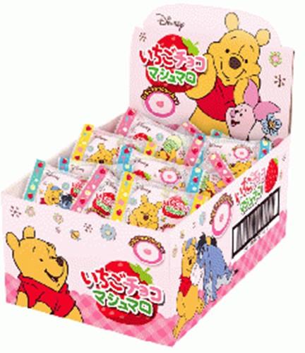 【常温便】【30入り x 1】 エイワ くまのプーさんいちごチョコマシュマロ 【おすすめ・イチオシ商品】