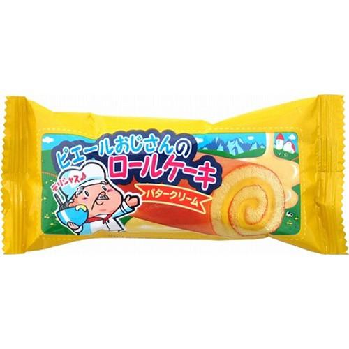 【常温便】【24入り x 1】 やおきん ロールケーキ バタークリーム味20g