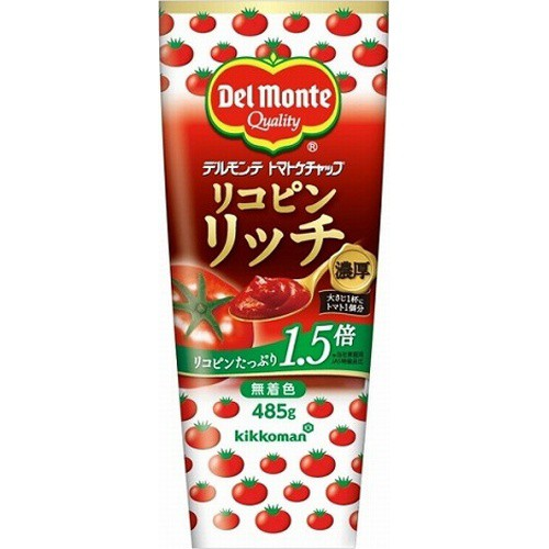 【常温便】【20入り x 1】 DM リコピンリッチトマトケチャップ 485g
