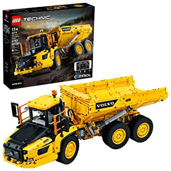 LEGO Technic 6x6 Volvo Articulated Hauler (42114) Building Kit Volvo Truck Toy Model for Kids Who Love Construction Vehicle Pla