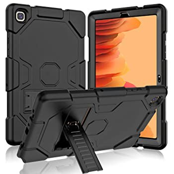Grifobes Samsung Galaxy Tab A7 10.4インチ 2020(SM-T500/ T505/ T507)用ケース スリム高耐久耐衝撃頑丈ケース スタンド付き ハードポリ