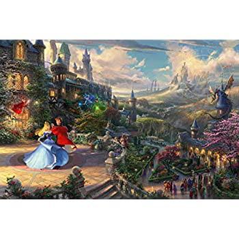Ceaco ジグソーパズル トーマス・キンケード ディズニーコレクション 眠れる森の美女 750ピース
