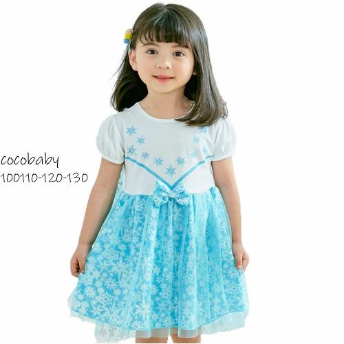 キッズ 子ども服 コスチューム エルサ ドレス ワンピース なりきりプリンセス ドレス ハロウィン 仮装 子供 女の子 ハロウィン衣装 キッ