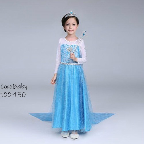 アナと雪の女王 エルサ ドレス ワンピース なりきりプリンセス ハロウィン 仮装 子供 女の子 ハロウィン衣装 キッズ コスプレ 女の子 子