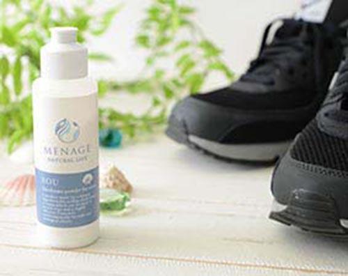靴用消臭除菌パウダー SOU [ 靴用 除菌 消臭 消臭剤 粉 パウダー 中敷き 消臭 足の臭い 簡単 菌 靴のニオイ 対策 くつの消臭 ]