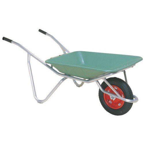 【代引不可】アルミ一輪車 プラバケット付 CFB-2<ハラックス>