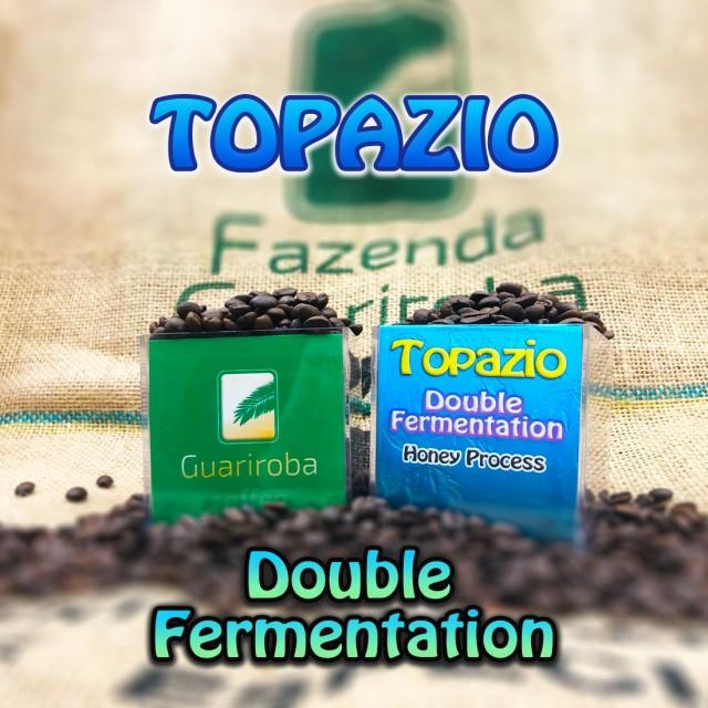 TOPAZIO - Double Fermentation ダブルファーメンテーション製法 ハーブシリーズ スペシャルティコーヒー豆 200g 送料無料 ブラジルグア