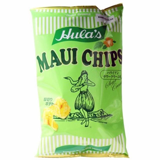 ポテトチップス 詰め合わせ フラ印 マウイチップス サワークリームオニオン味 150g×4袋 セット 送料無料 厚切り 高級 食べ比べ ハワイ