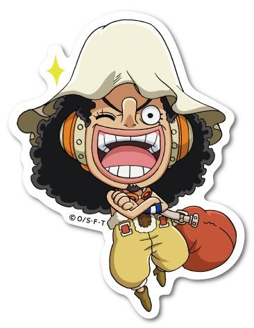 ワンピース SDキャラ ウソップ LCS513 ステッカー キャラクター ライセンス商品 グッズ ONE PIECE ジャンプ マンガ アニメ
