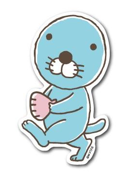 ぼのぼのステッカー おさんぽ ぼのぼの BONOBONO LCS953 アニメ キャラクター グッズ