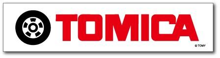 LCS652 TOMICA ロゴステッカー タイヤ トミカ タカラトミー TOMY ロゴ 車