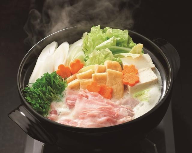 【送料無料】コク深 豆乳鍋の素 濃縮タイプ 日本食研 豆乳鍋の素 2袋組  3〜4人前/袋【代引不可】
