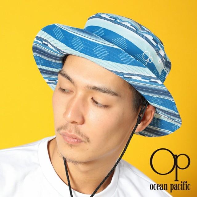 オーシャンパシフィック Ocean Pacific OP 日本正規品 メンズ サーフハット ブルー 薄手 海 アウトドア