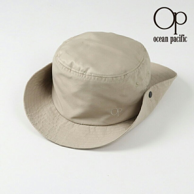 オーシャンパシフィック Ocean Pacific OP 日本正規品 メンズ サーフハット ベージュ 無地 ベーシック 定番