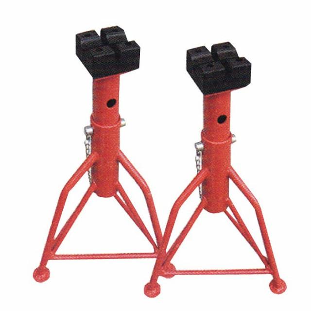 整備 馬 ウマ ジャッキスタンド タイヤ交換 馬ジャッキ 3t ゴム受けタイプ 2台セット