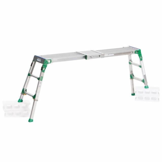 脚立 踏み台 ステップ 高所 洗車 ALINCO(アルインコ) 伸縮天板・伸縮脚付足場台 VSR-1713F