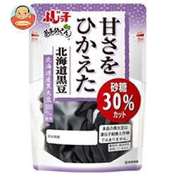 送料無料 【2ケースセット】 フジッコ おまめさん 甘さをひかえた 北海道黒豆 114g×10袋入×(2ケース)
