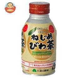送料無料 十津川農場 ねじめびわ茶 290mlボトル缶×24本入