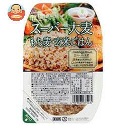 送料無料 城北麺工 ス−パ−大麦もち麦玄米ごはん 150g×24個入