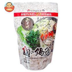 送料無料 【2ケースセット】 樽の味 麹の鍋つゆ 味噌風味 680g×12袋入×(2ケース)