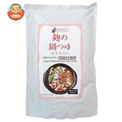 送料無料 樽の味 麹の鍋つゆ 唐辛子 680g×12袋入