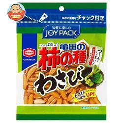 【送料無料】 亀田製菓 亀田の柿の種 わさび 83g×20袋入