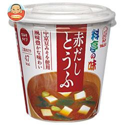 送料無料 【2ケースセット】マルコメ カップ料亭の味 赤だしとうふ 1食×6個入×(2ケース)
