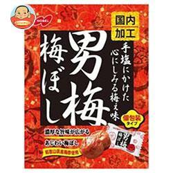 送料無料 【2ケースセット】ノーベル製菓 男梅梅ぼし 52g×6袋入×(2ケース)