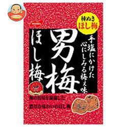 送料無料 【2ケースセット】ノーベル製菓 男梅ほし梅 20g×6個入×(2ケース)