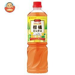 送料無料 【2ケースセット】ミツカン ビネグイット りんご酢柑橘ミックス(6倍濃縮タイプ) 1000mlペットボトル×8本入×(2ケース)
